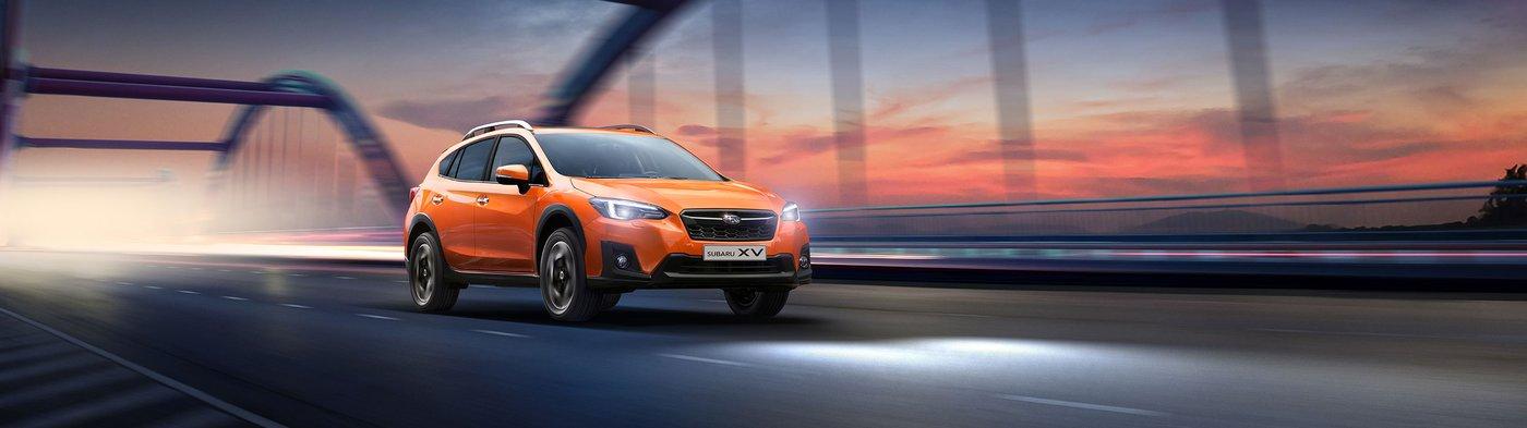 Старт продаж Subaru XV  и специальные цены на другие модели Subaru