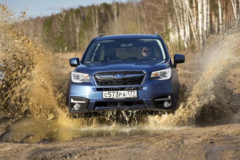 Subaru объявляет цены на Forester и Outback 2017 года